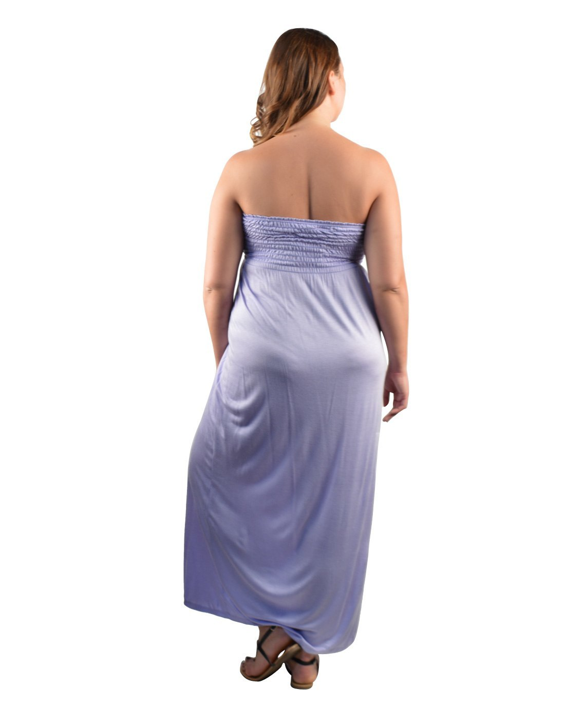 Women's Plus Size Clothing 2X 3X Strapless Full Length ...
