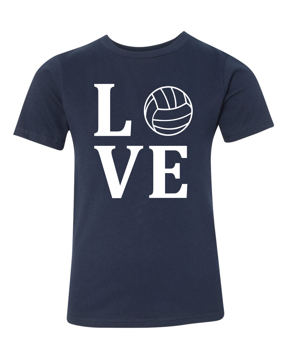 Love volleyball sports jersey youth short sleeve t shirt for I love sports t shirt