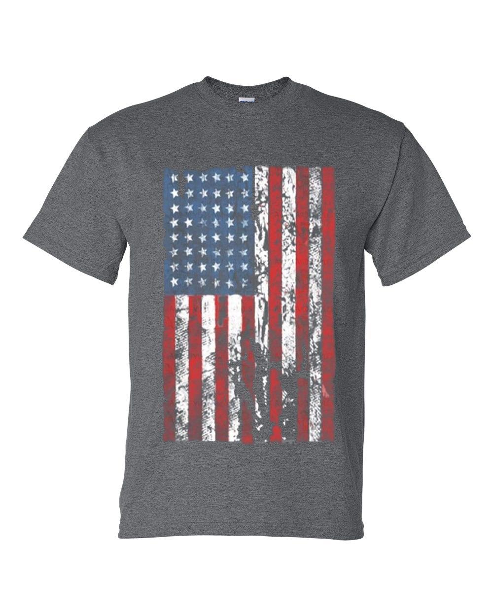 distressed american flag usa patriotic clothing mens