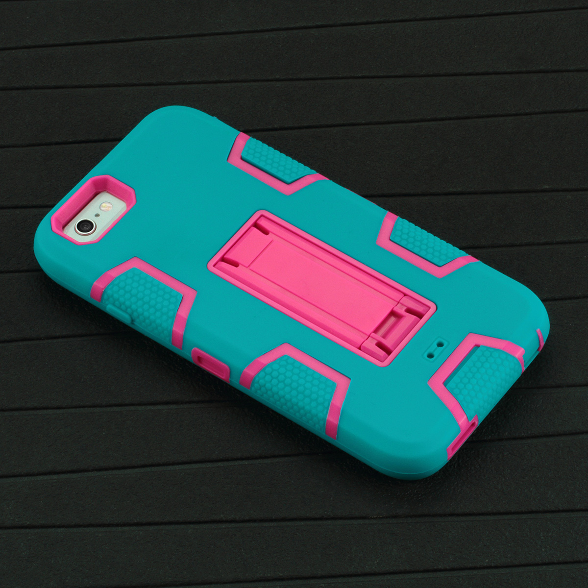 """Ultra Hybrid Shockproof Protective Case with Kickstand for iPhone 6 4.7"""""""
