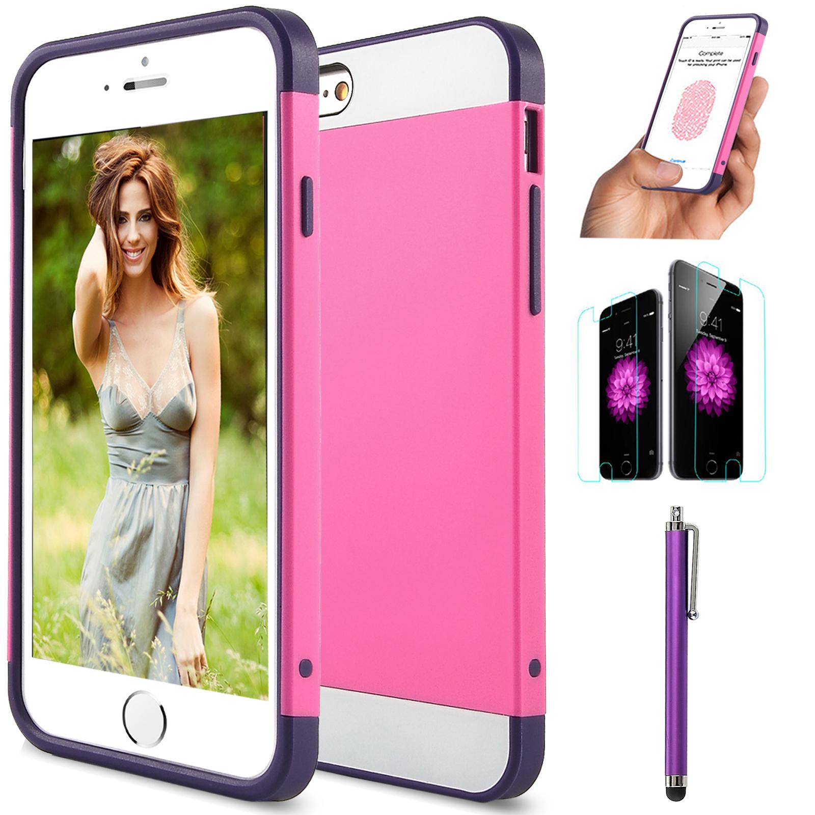"""For iPhone 6 4.7"""" Plus 5.5 Premium Ultra Thin Slim TPU Gel Skin Case Matte Cover"""