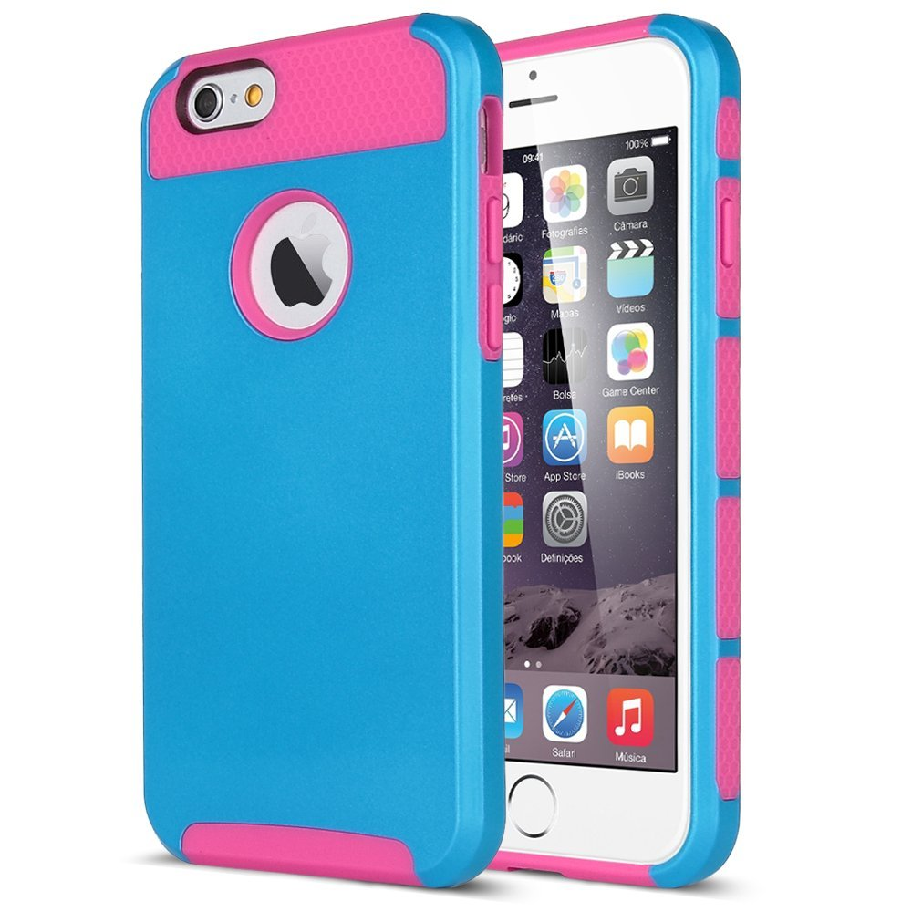 Shockproof Hybrid Hard Amp Soft Rugged Cover Case For Apple