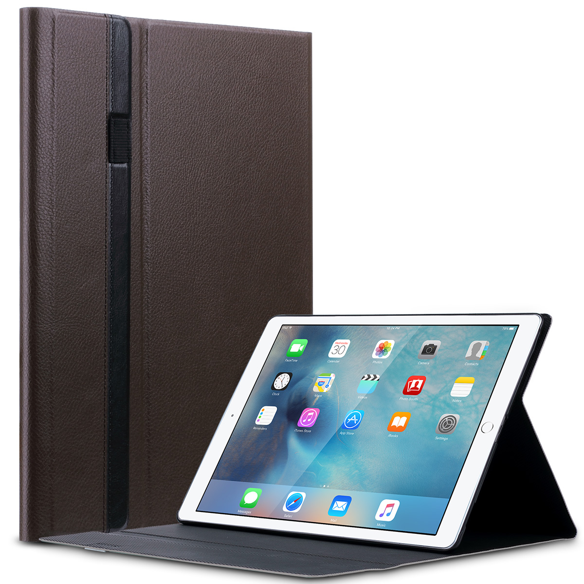 luxury folio magnetic pu leather smart cover stand case for apple ipad pro 12 9 ebay. Black Bedroom Furniture Sets. Home Design Ideas