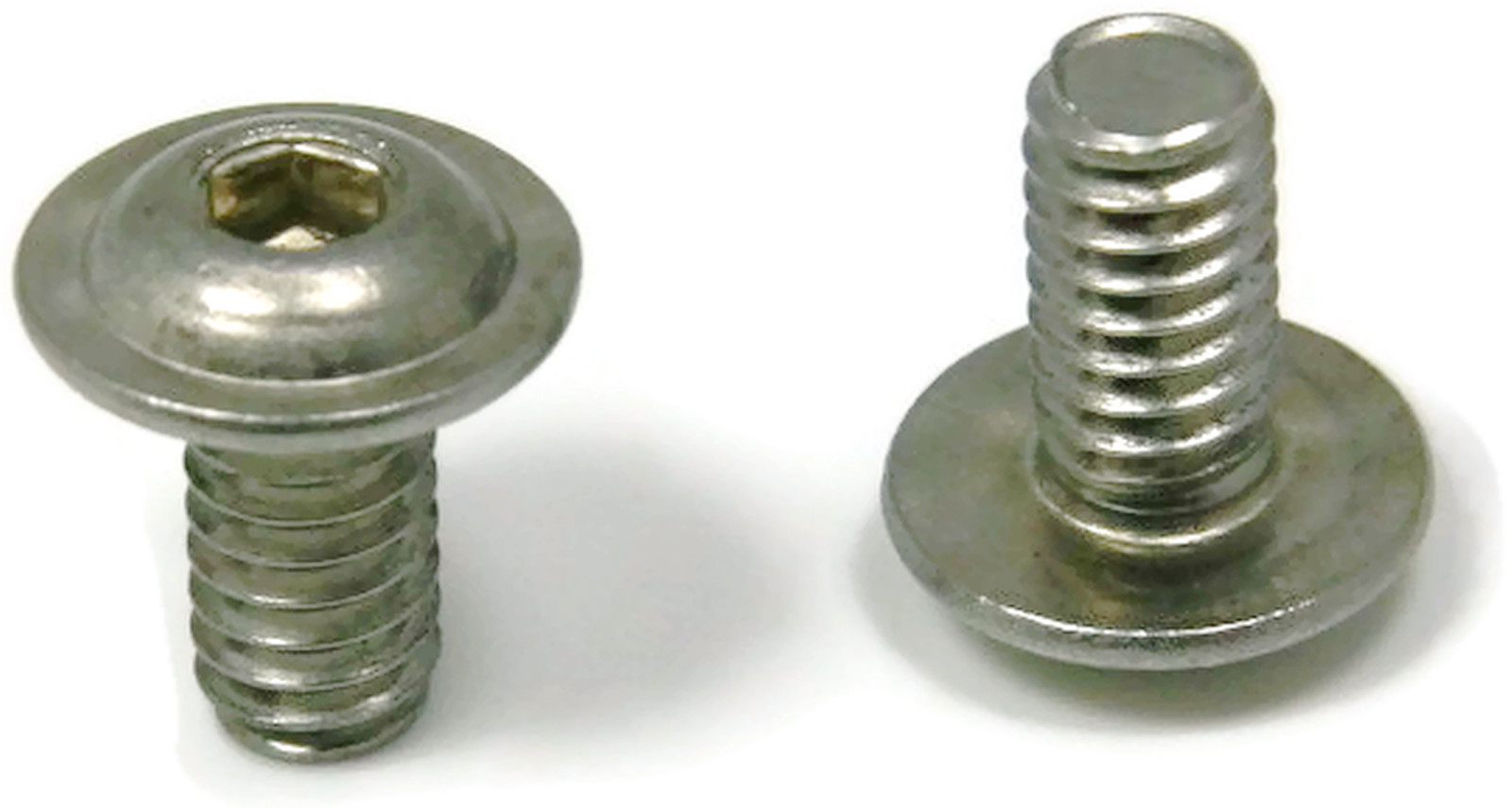 Button flange socket head cap screw stainless steel