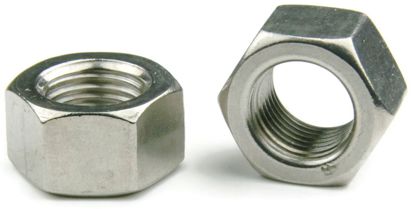 A stainless steel finished hex nut metric m qty