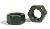 black-stainless-steel-nut