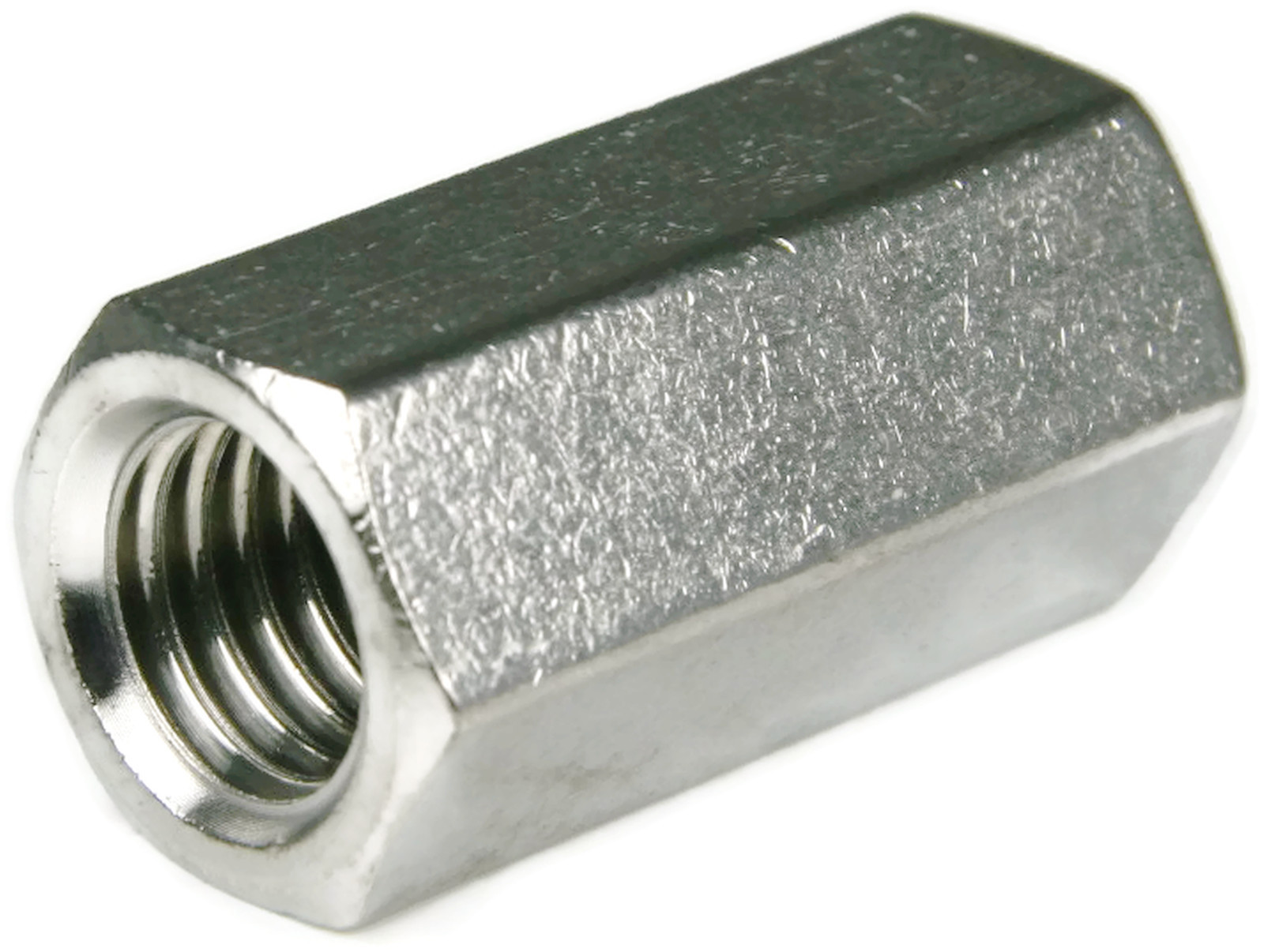 Stainless Steel Threaded Couplers : Stainless steel coupling nuts threaded rod unf
