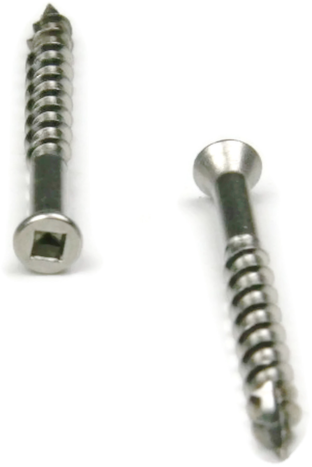 Stainless steel deck screws square drive wood 8 x 2 1 2 for Composite deck fasteners