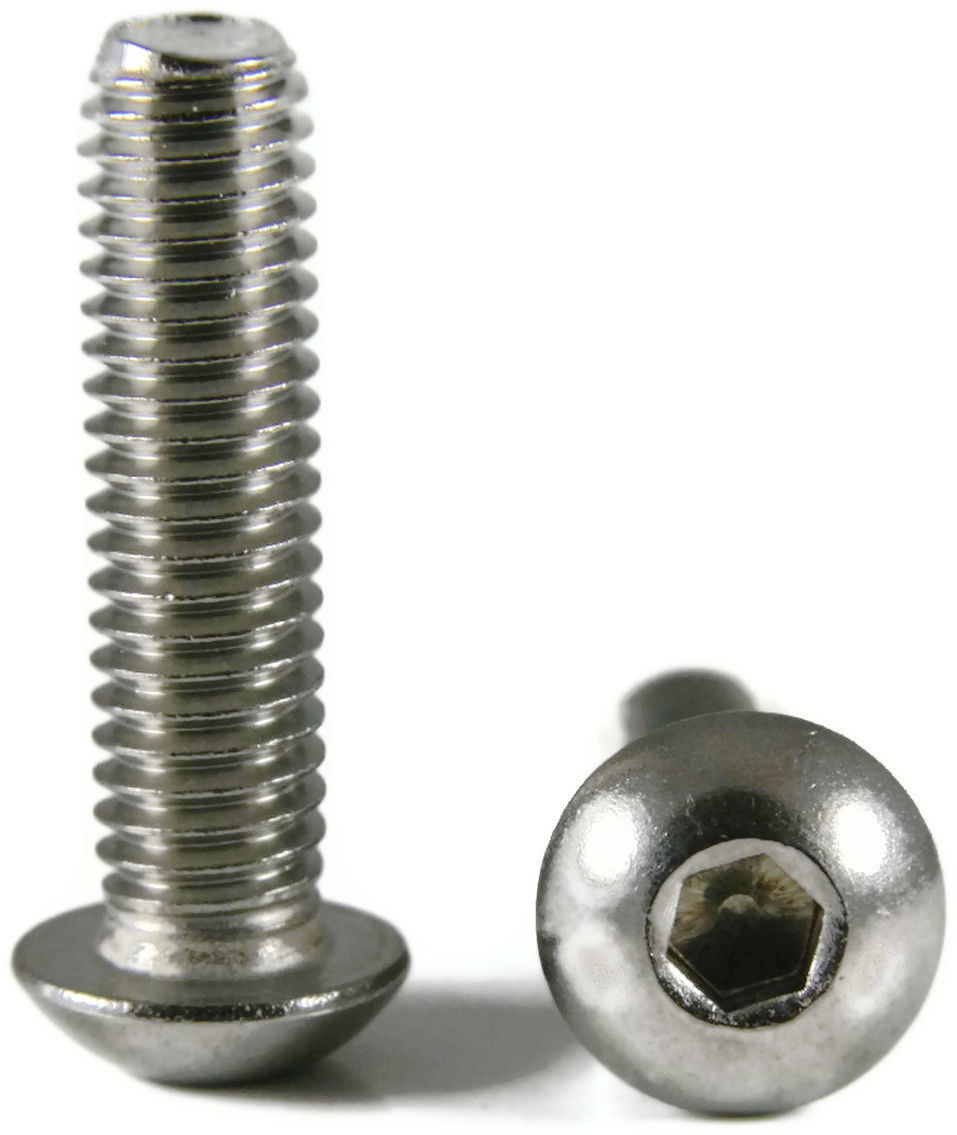 Stainless Steel Button Head Screws 25/PCS 5/16-18x3/4