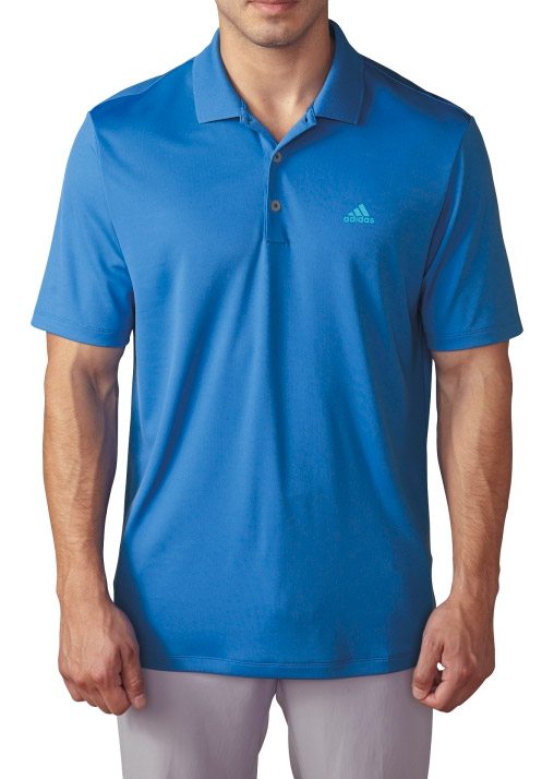 Adidas Branded Performance Polo Golf Shirt Mens Closeout ...