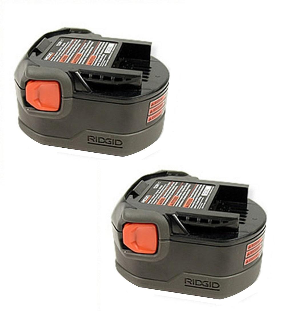 Ridgid (2 Pack) 130252002 12v 12 volt 1.25ah NiCad slide style battery pack New at Sears.com