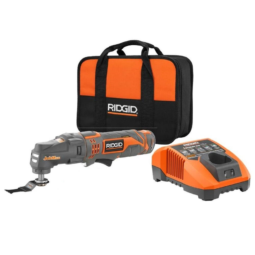 Ridgid Certified Factory Reconditioned  ZRR82235 R82235 12v 12 volt cordless lithium ion JobMax multi tool at Sears.com
