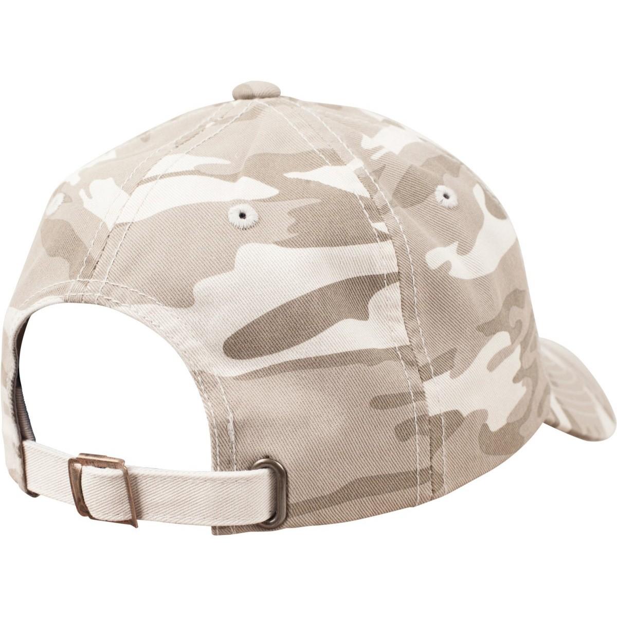 Flexfit LOW PROFILE Strapback Washed Cap camouflage