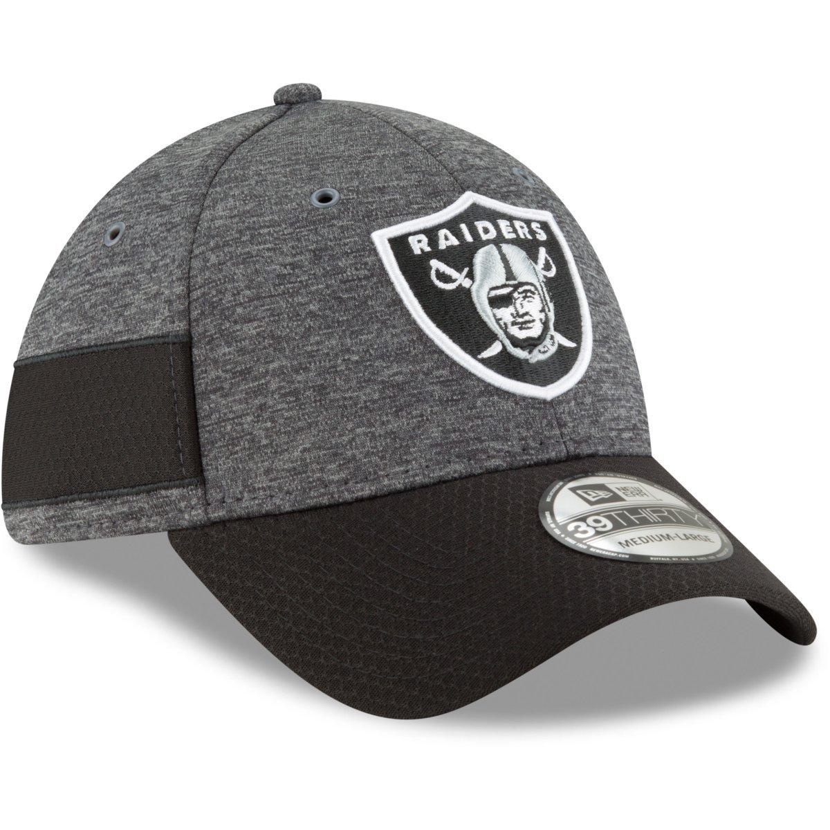 New Era 39Thirty Shadow-Tech Cap NFL Sideline Graphite Home