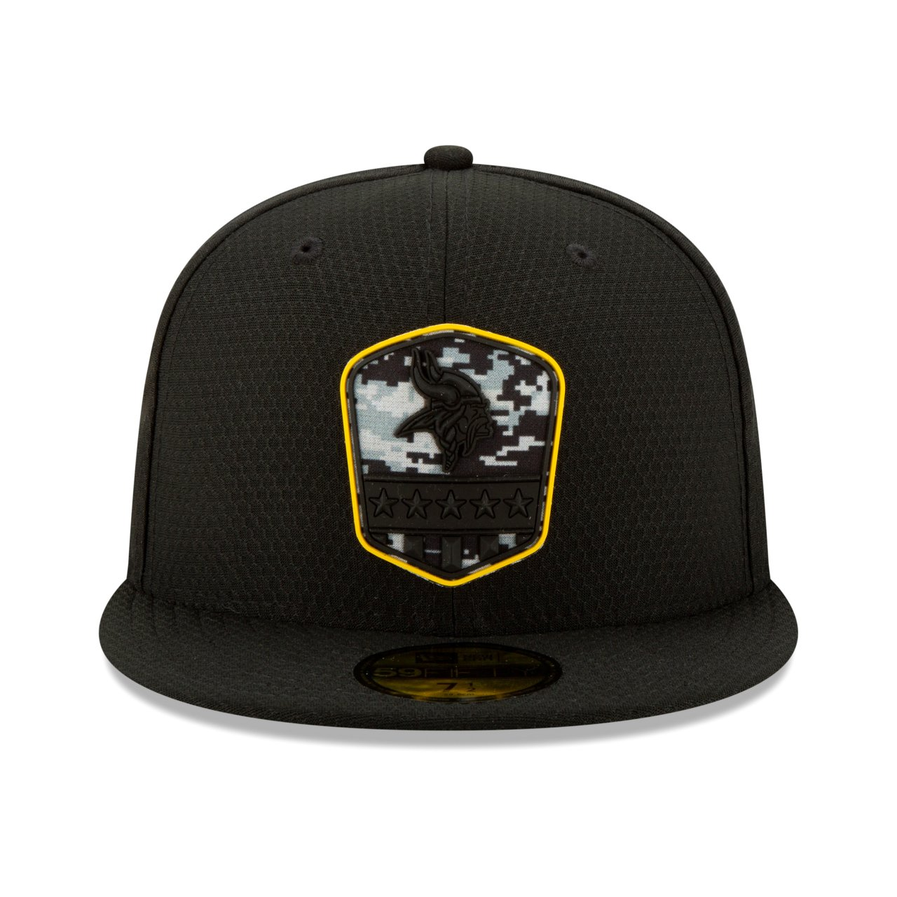 New Era 59Fifty Fitted Cap NFL Salute to Service BLACK