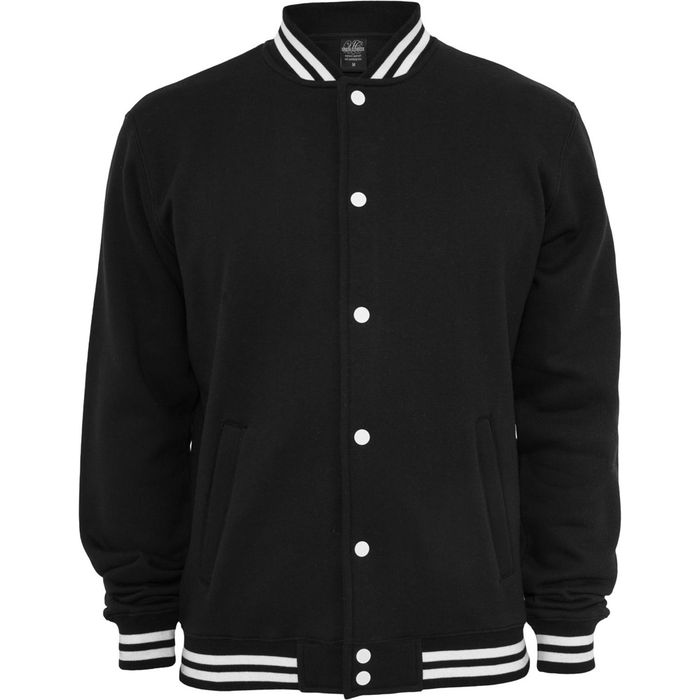 Urban Classics - COLLEGE SWEAT Jacket black | eBay
