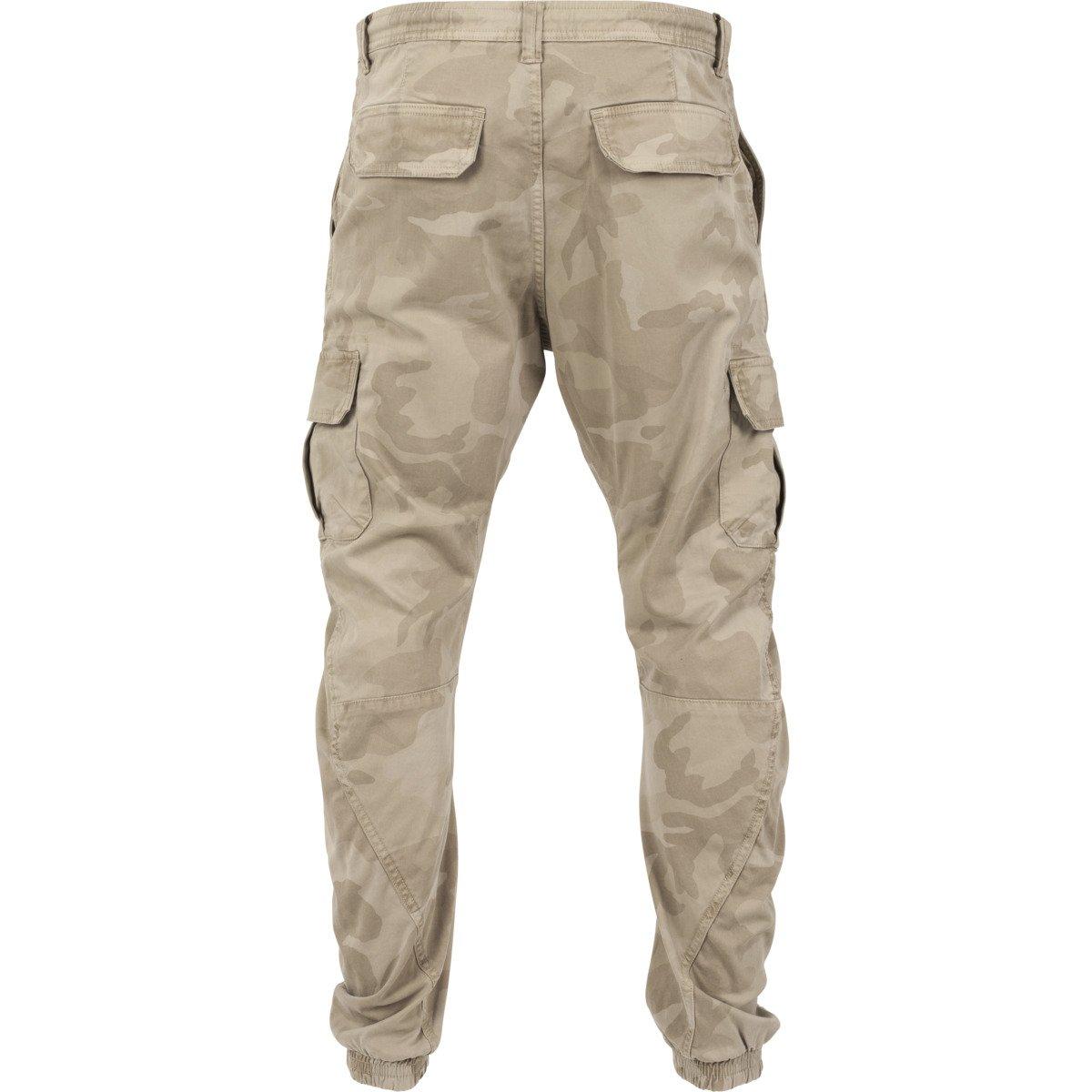 URBAN Classics-Camo Cargo Jogging Pantaloni Army