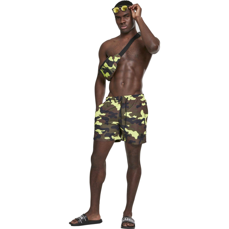 Camouflage Badeshorts Kurze Badehose Urban Classics