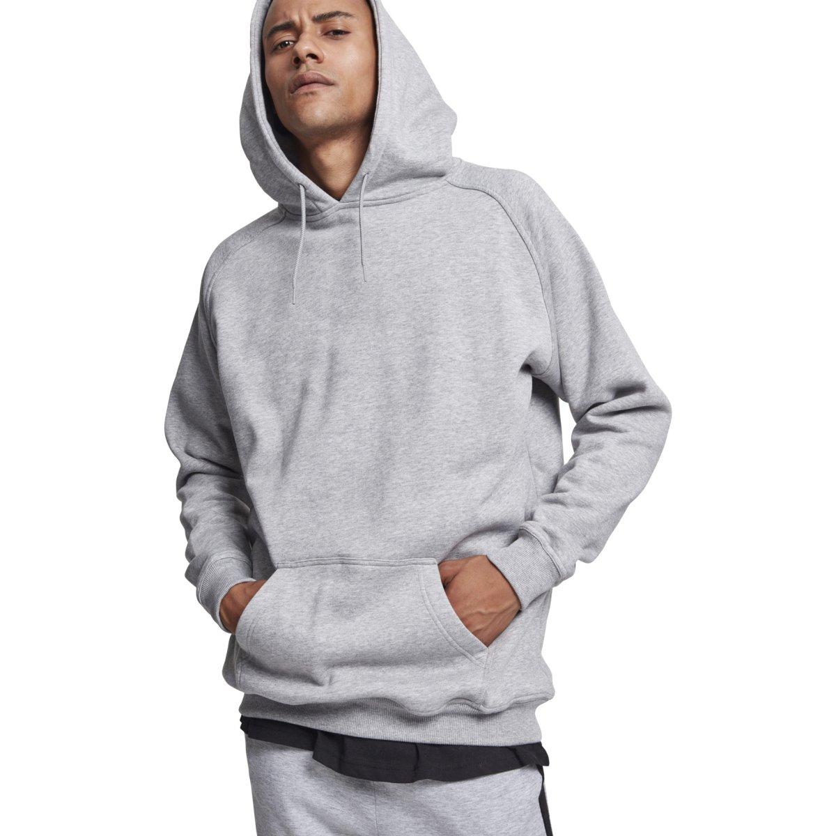 BIG TALL Hip Hop Fleece Hoody extra lang Urban Classics
