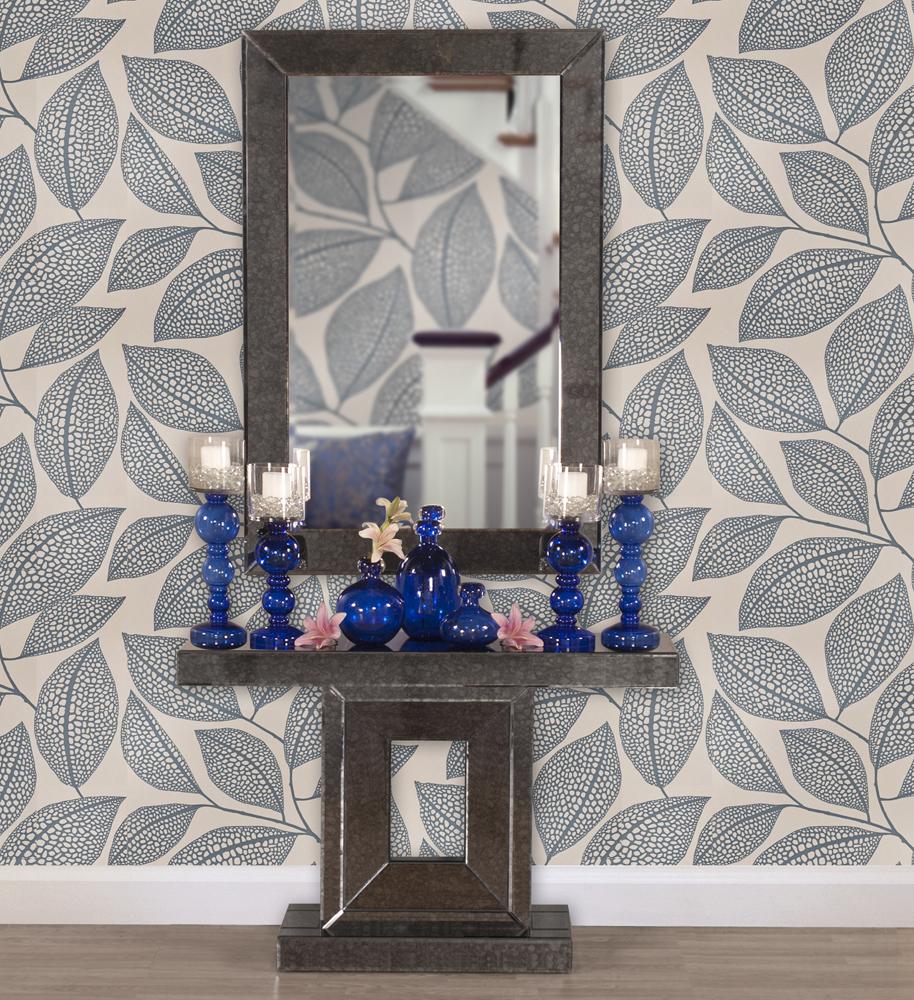 Modern Howard Elliott Cobalt Blue Blown Glass Vase Small
