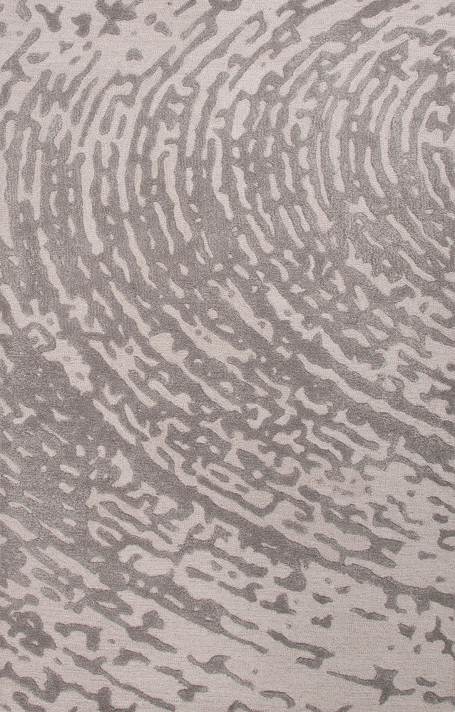 Jaipur Rugs Jaipur CLN08 Lustrous Finish Wool/ Art Silk Ivory/Gray Area Rug (8x10)