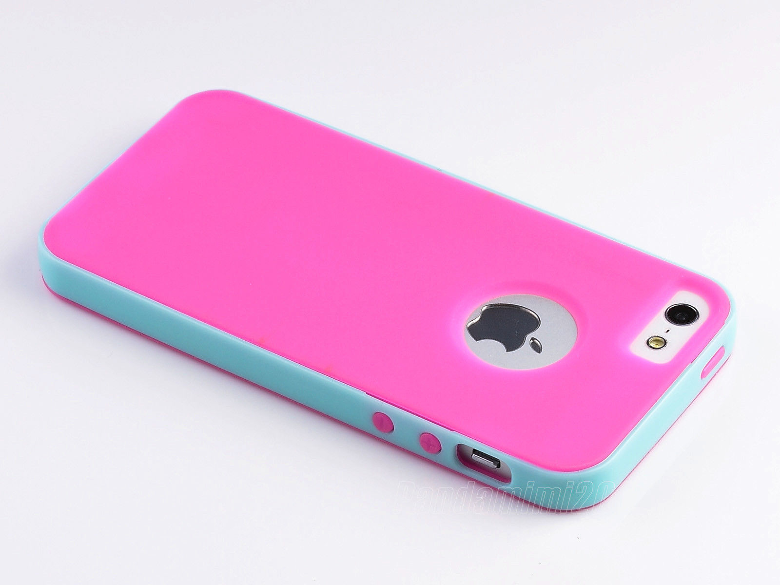 Hybrid PC Shockproof Dirt Dust Proof Hard Matte Cover Case For iPhone 5 5S+Film
