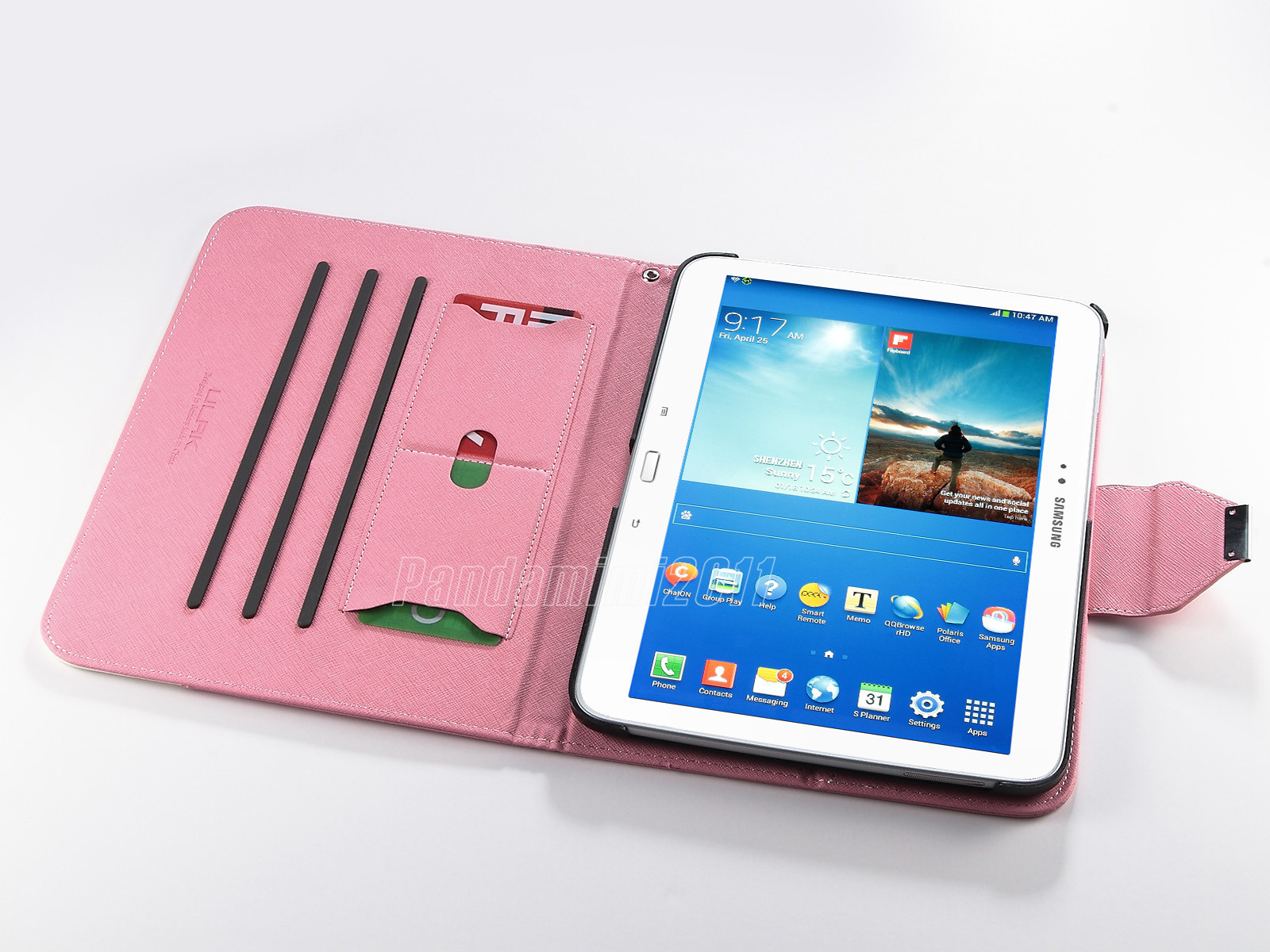 For Samsung Galaxy Tab 3 101 Inch Tablet P5200 PU Leather