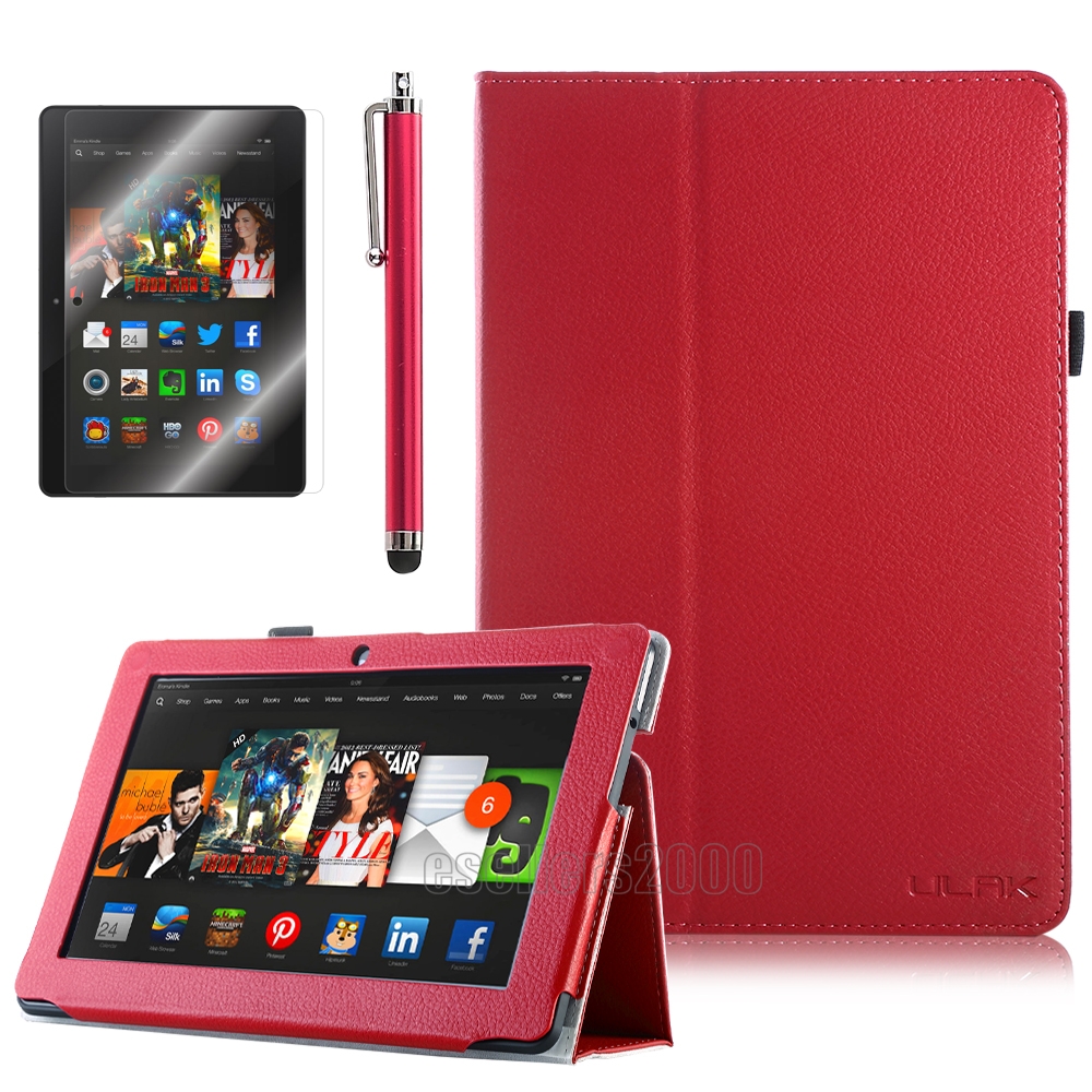 """For Amazon Kindle Fire HDX 8.9"""" Inch Magnetic Folio PU"""