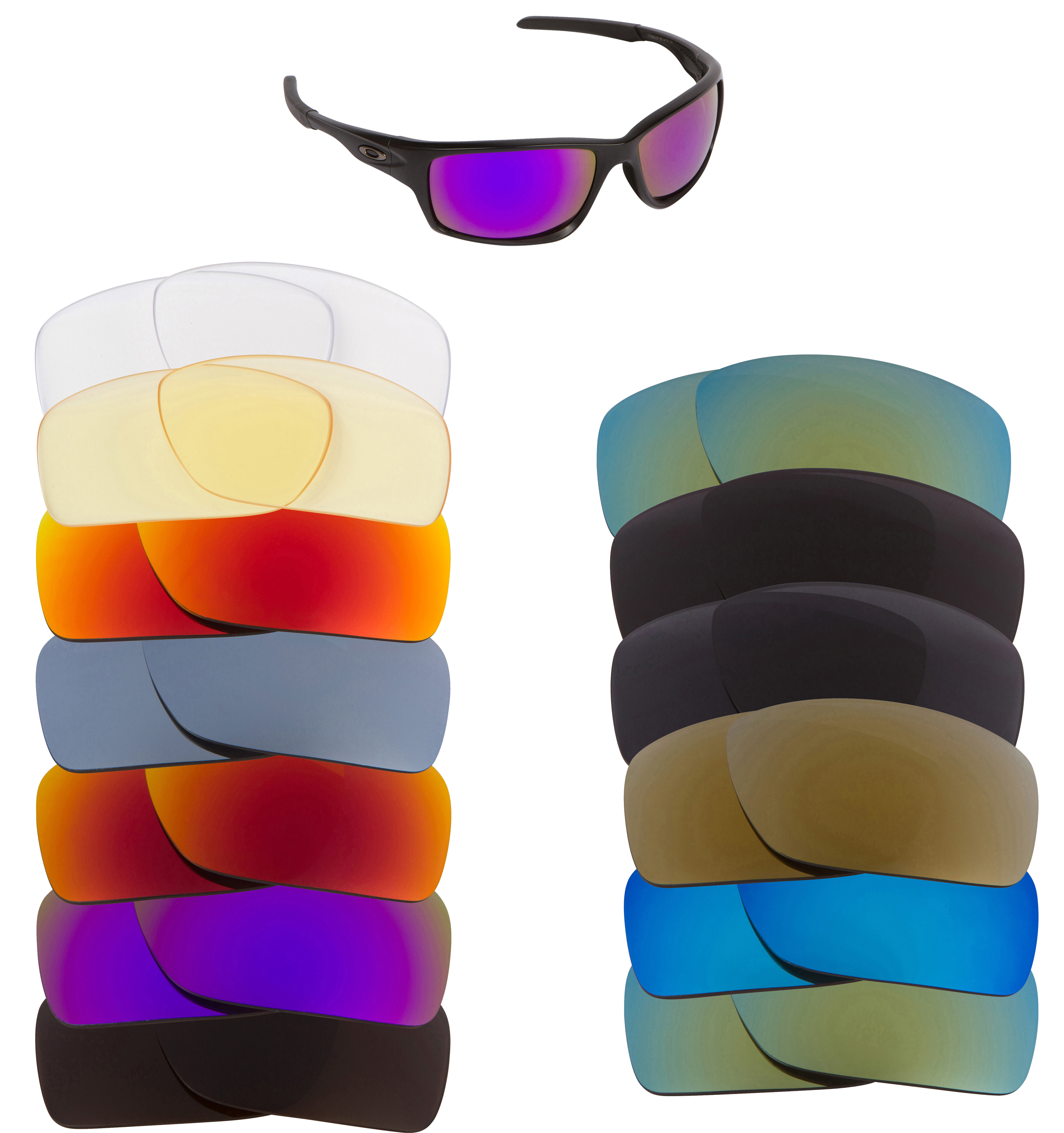 Oakley Canteen 2014 Replacement Lenses