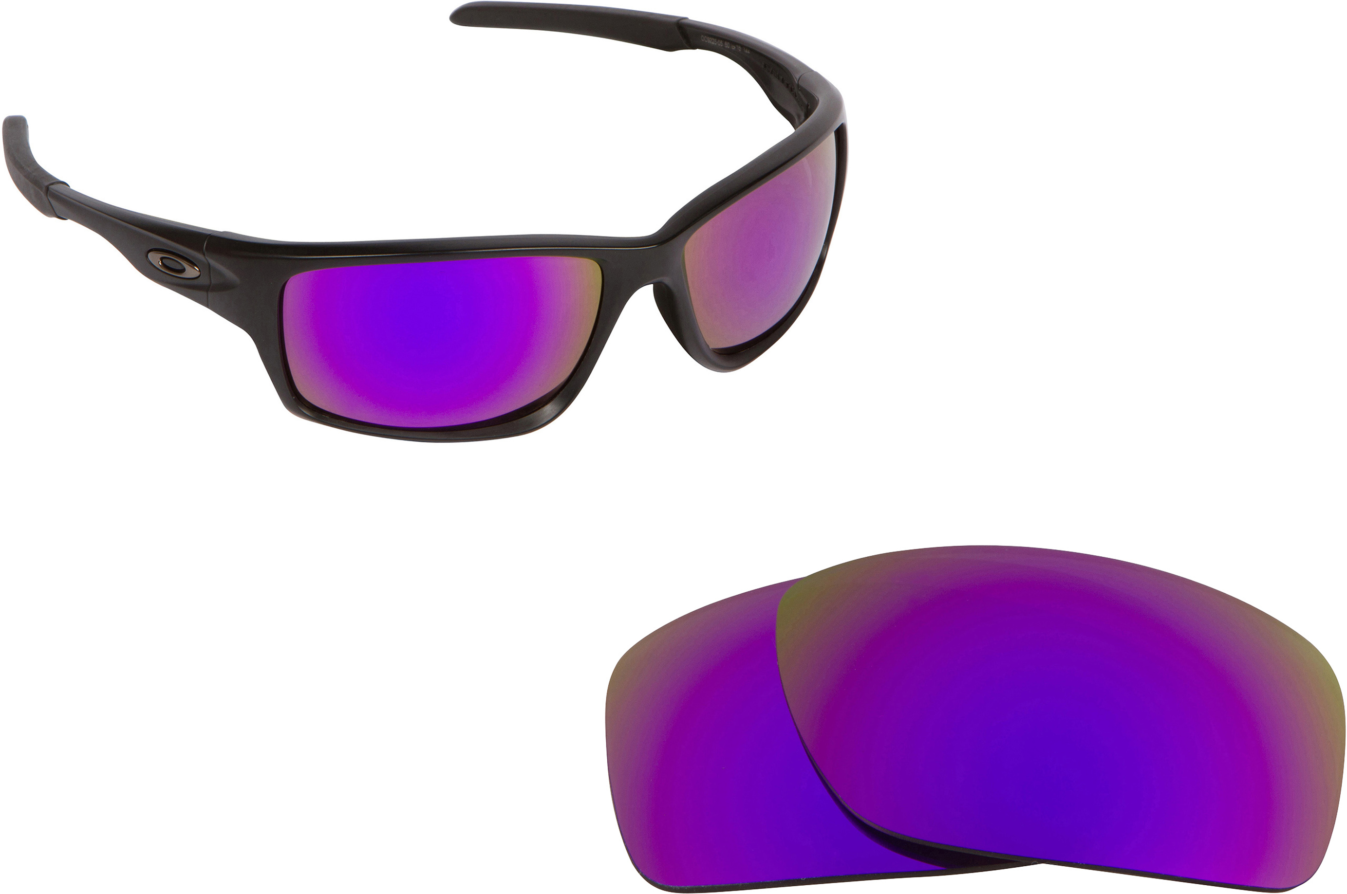 oakley 4 1 squared polarized lenses  polycarbonate lenses