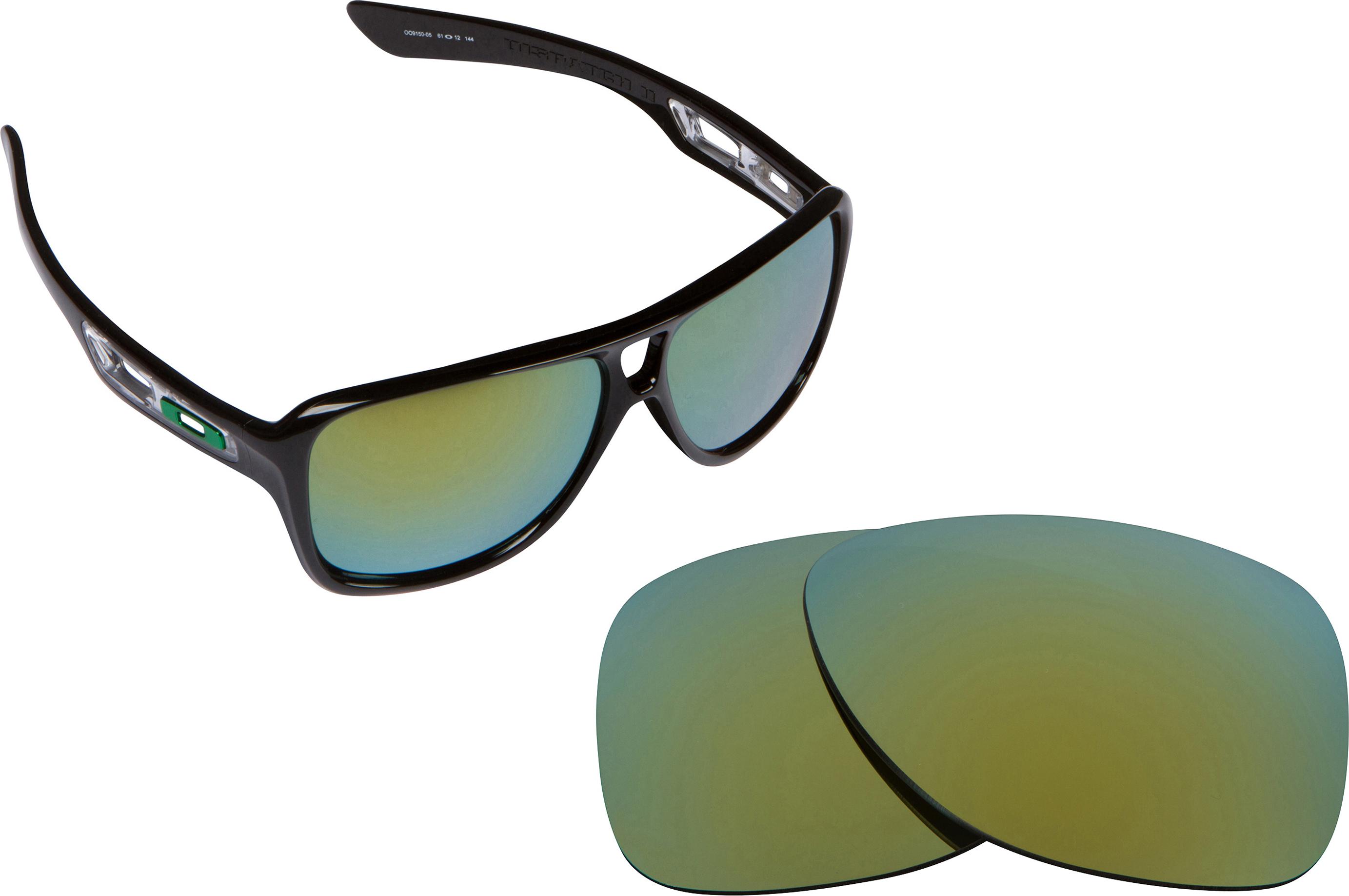 oakley gascan black iridium polarized lenses  oakley dispatch ii