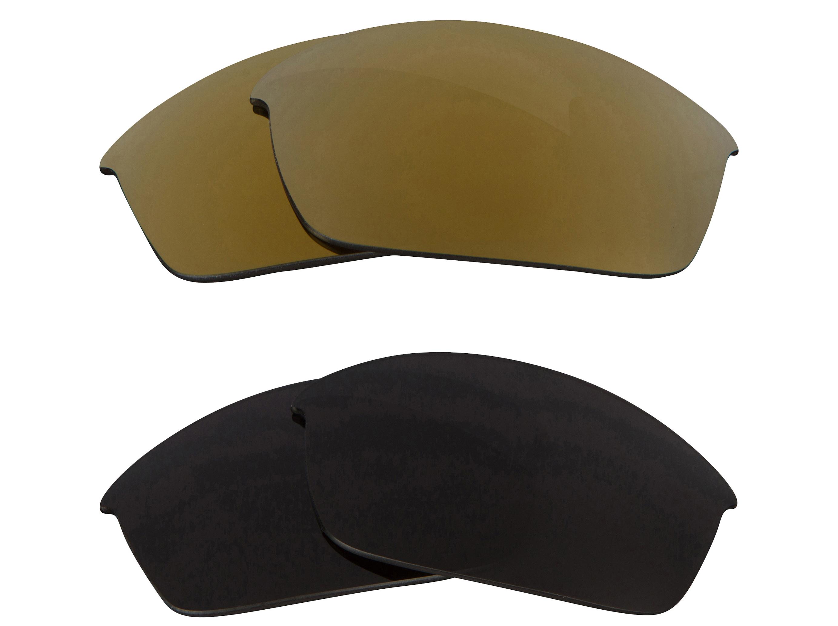 oakley flak jacket lenses polarized gold