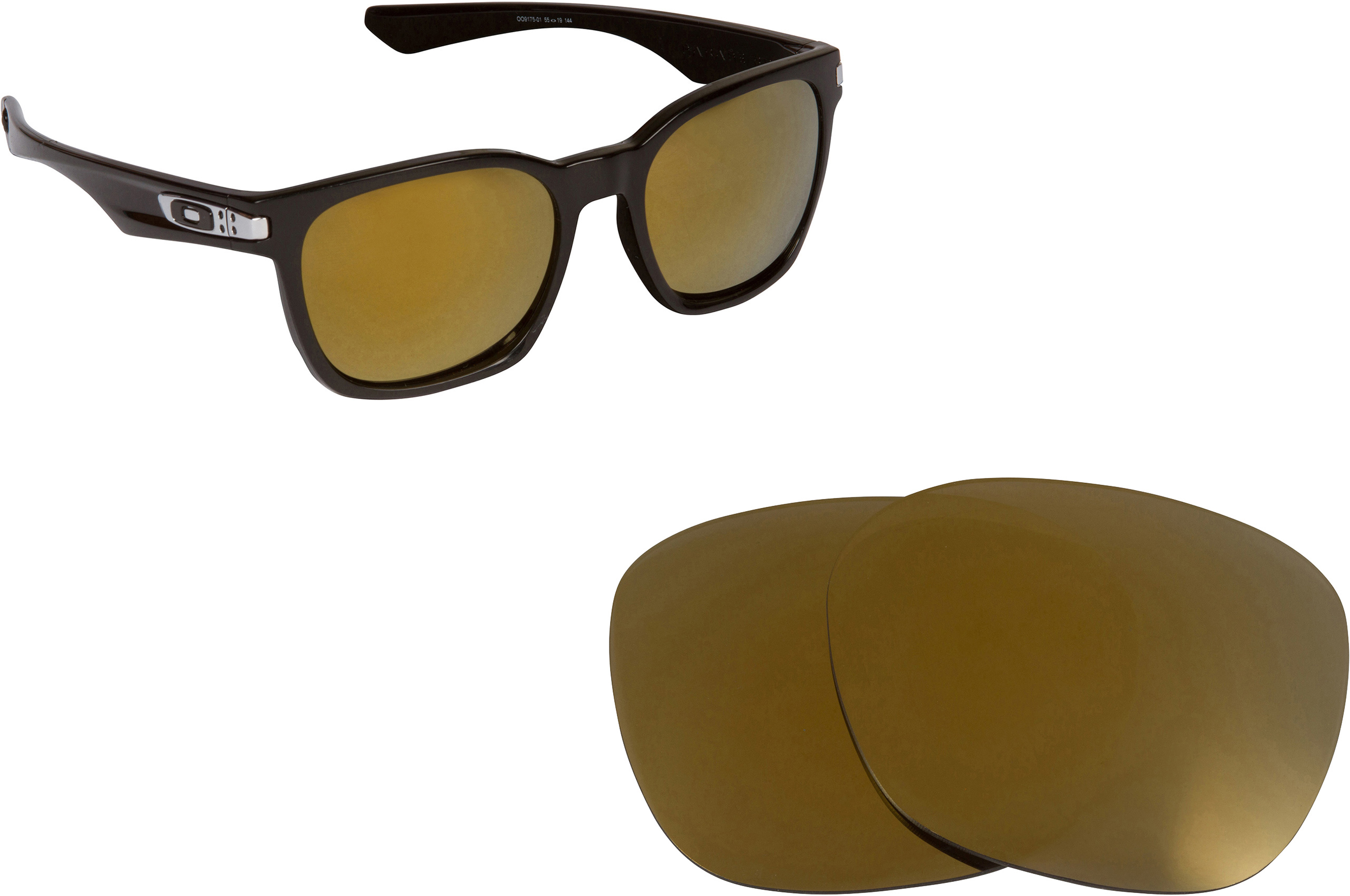 aftermarket oakley lenses  oakley garage rock
