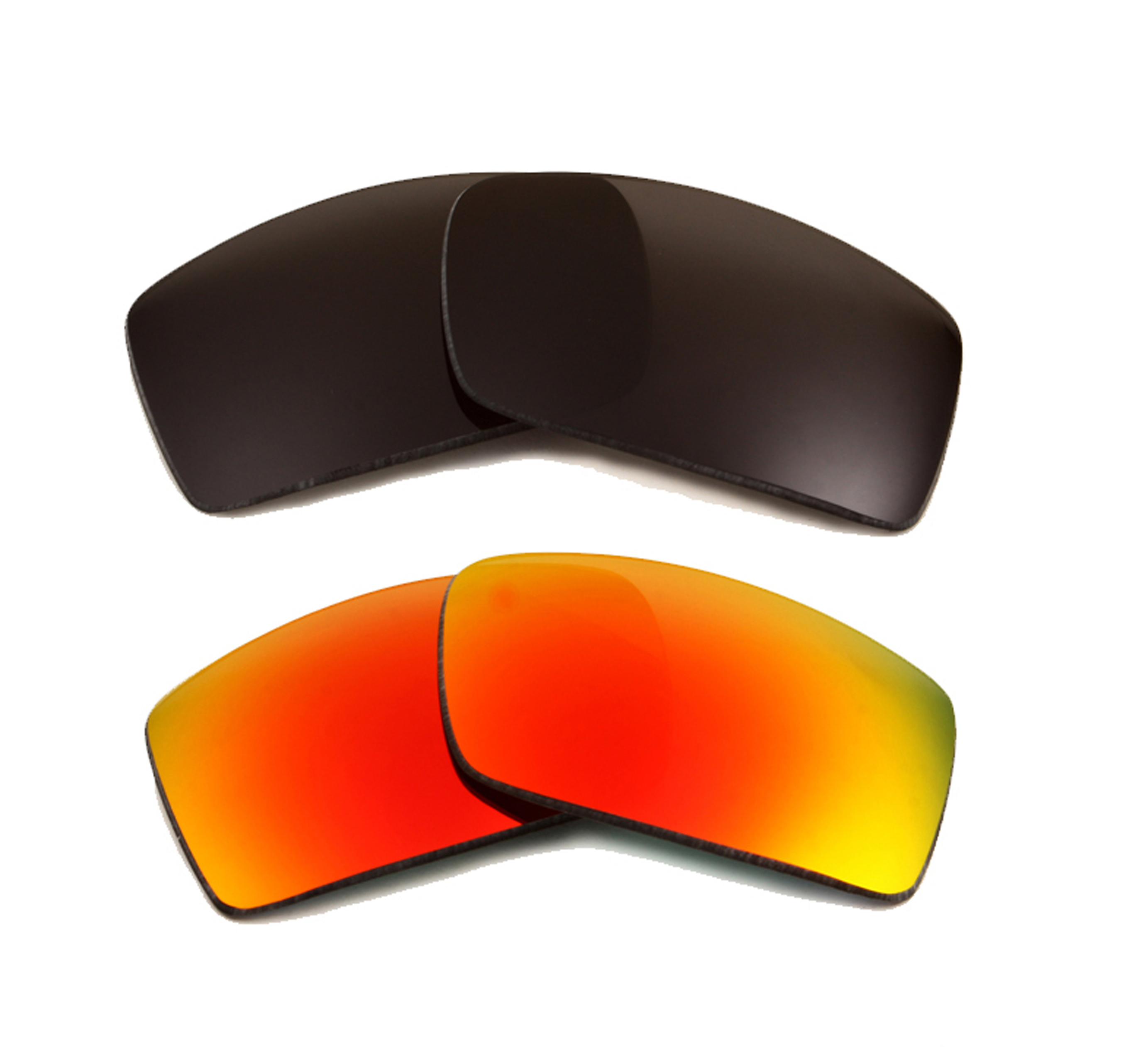 Seek Optics New Oakley GASCAN Black Red Mirror Replacement Polycarbonate SEEK Lenses at Sears.com