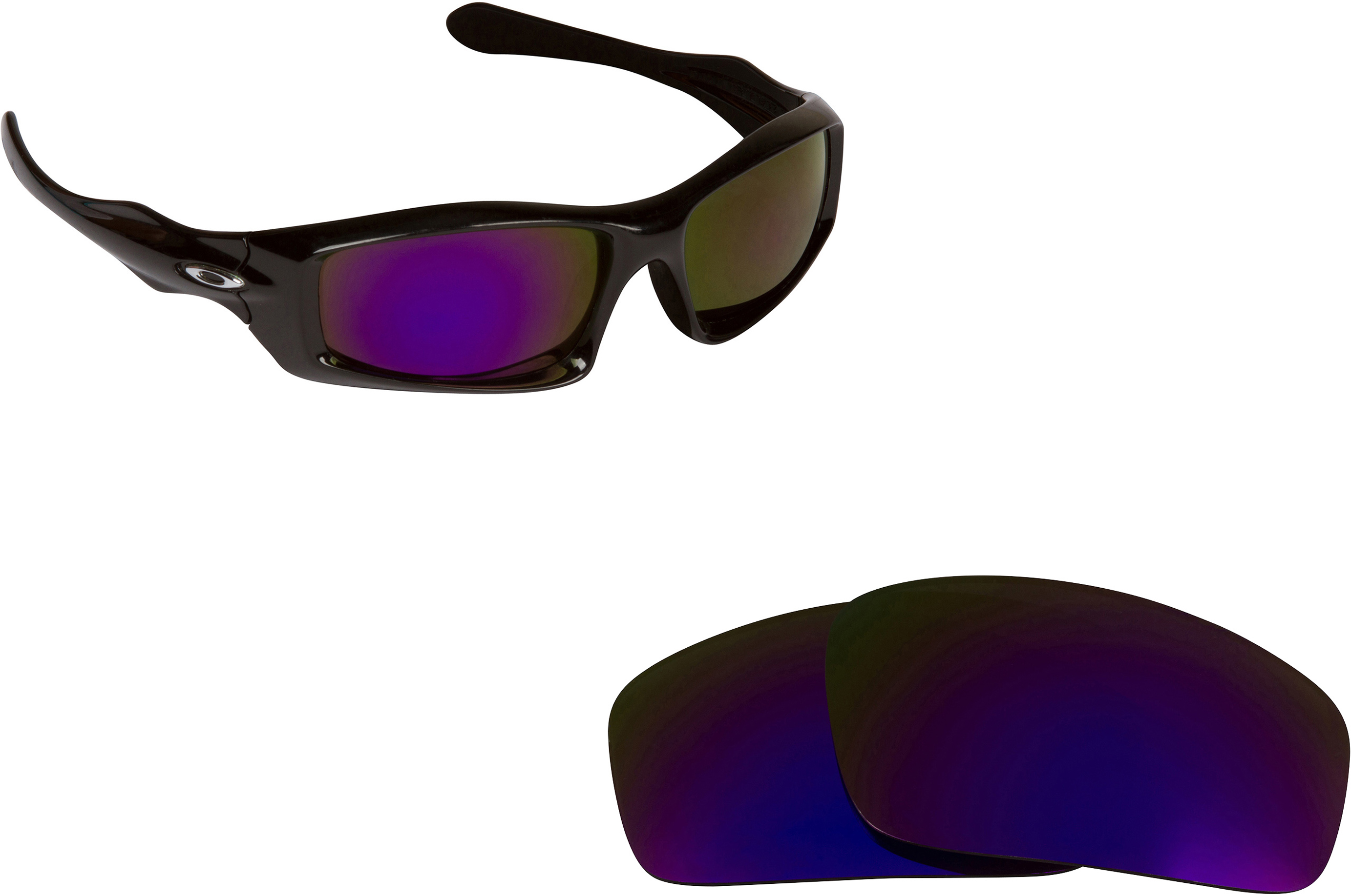 oakley gascan fire iridium  compare to oakley