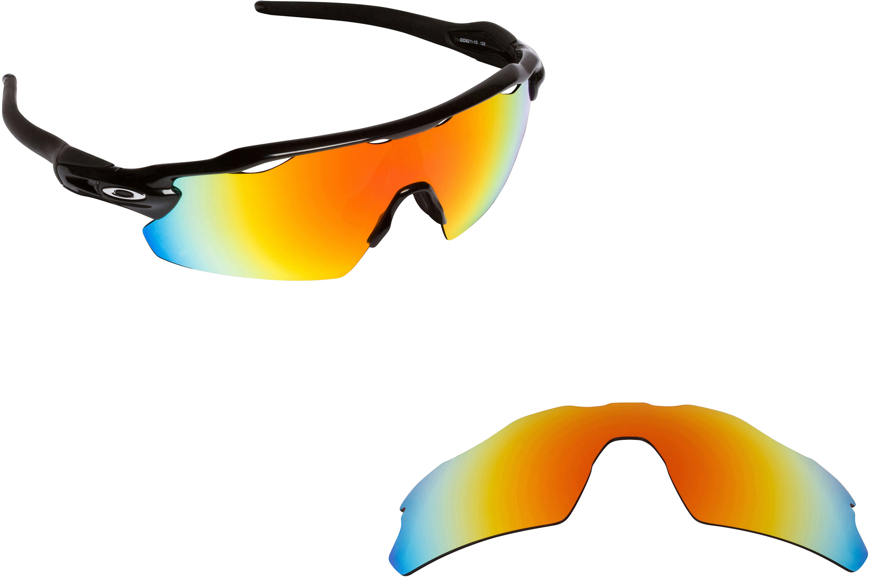how to change oakley radar ev lenses