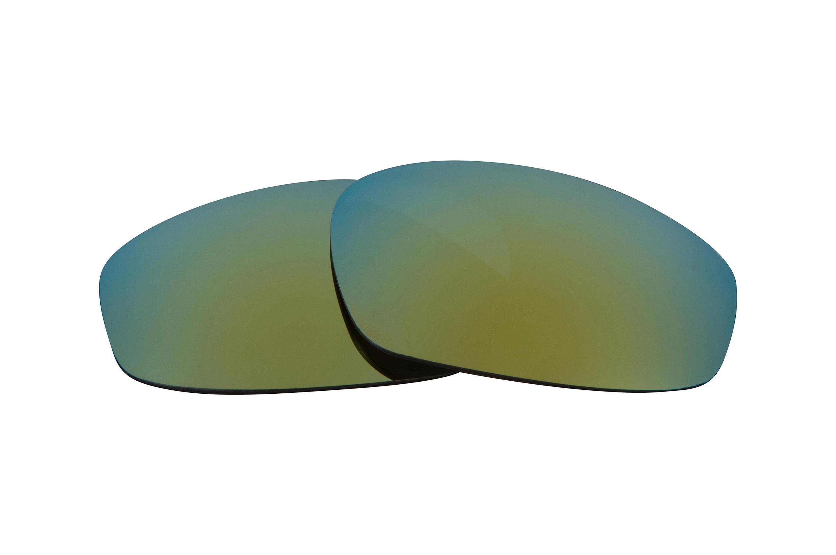 Nuovo seek lenti di ricambio per oakley split jacket verde - Specchio polarizzato ...
