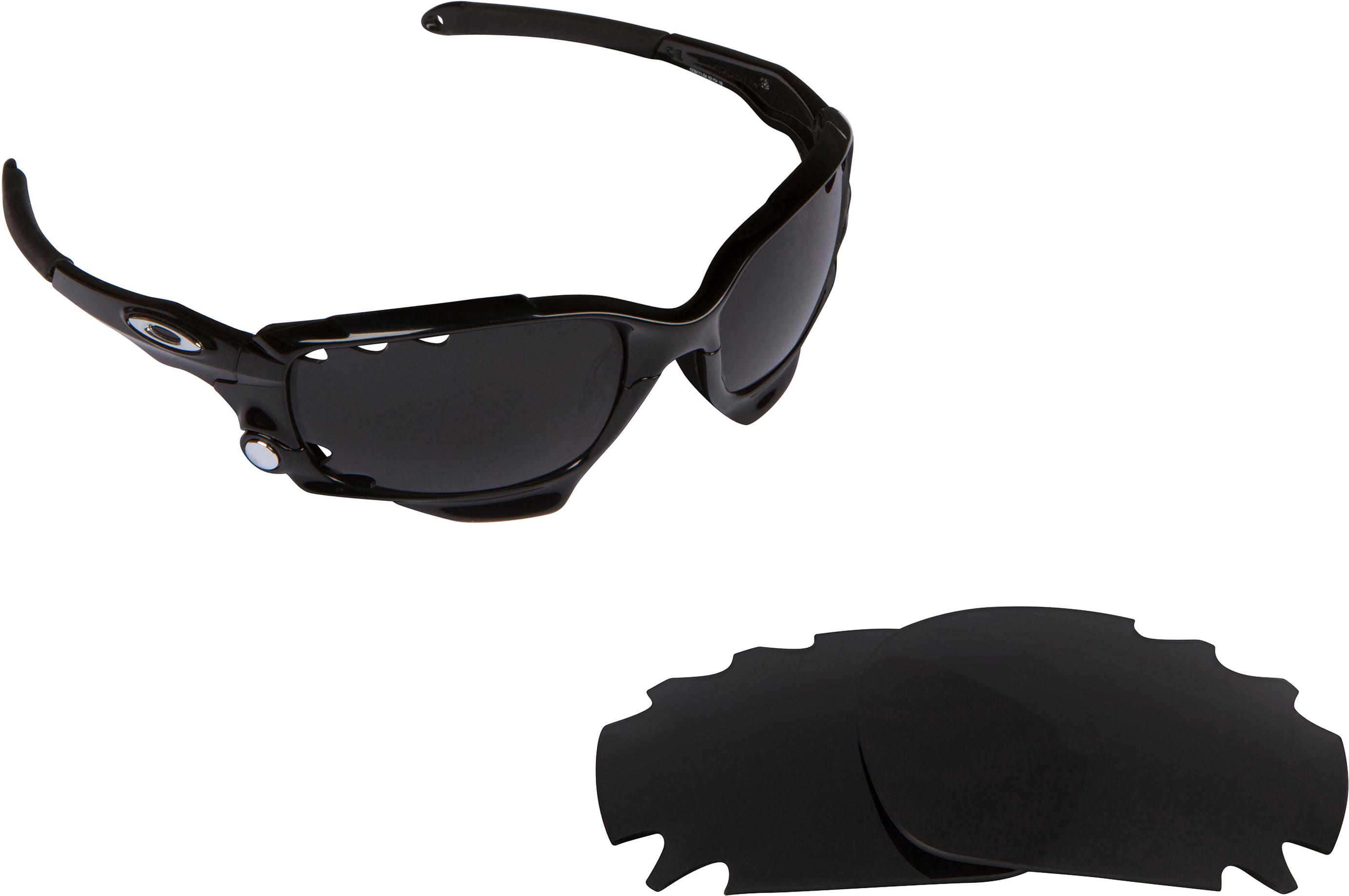oakley flak jacket black iridium polarized lenses  oakley vented racing