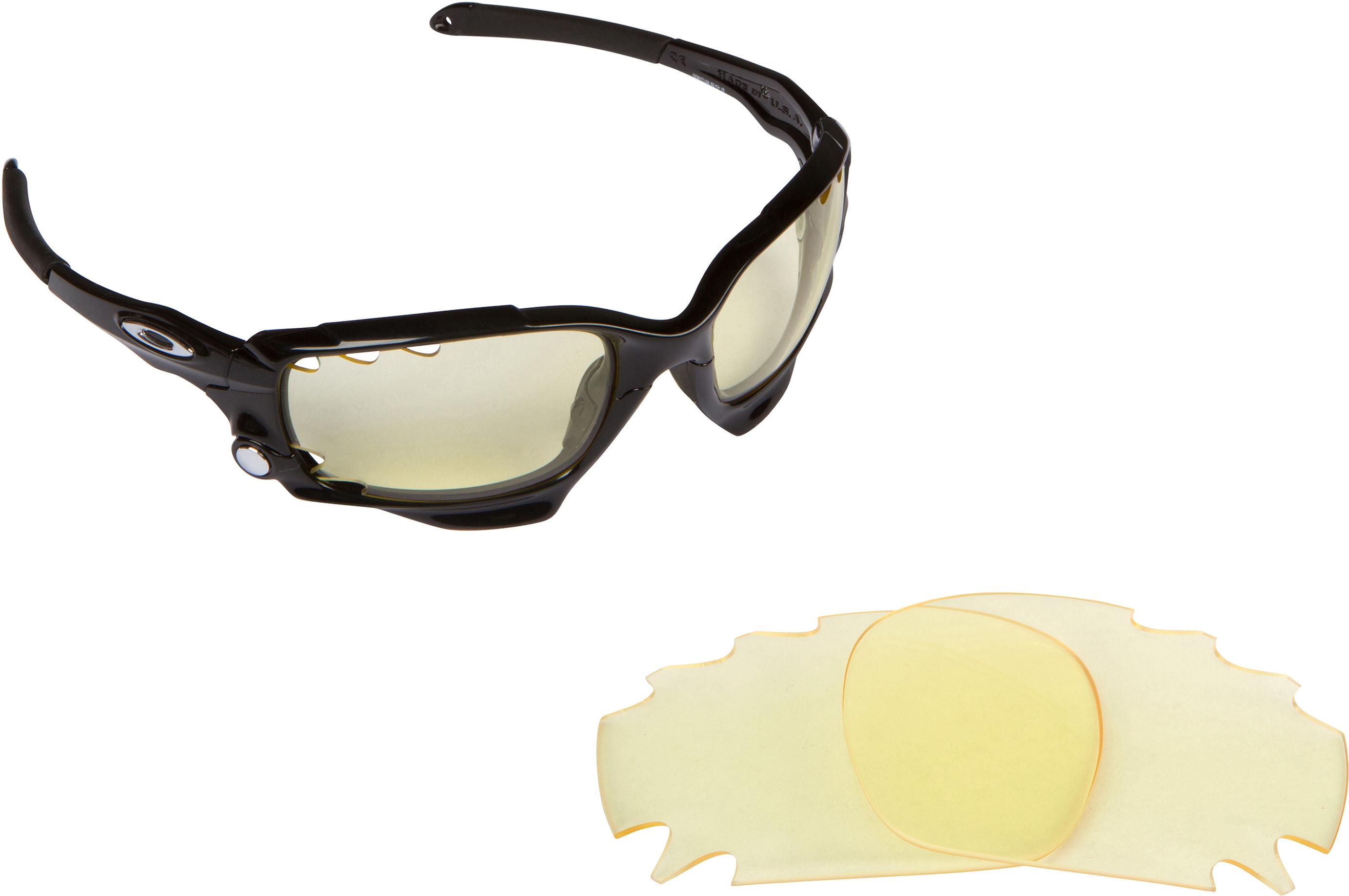 oakley half jacket amber lenses