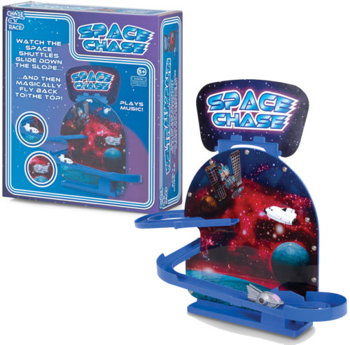 SPACE CHASE Playset Play Kids Boys Toy Party Bag Filler Gift Race Shuttle Sci Fi