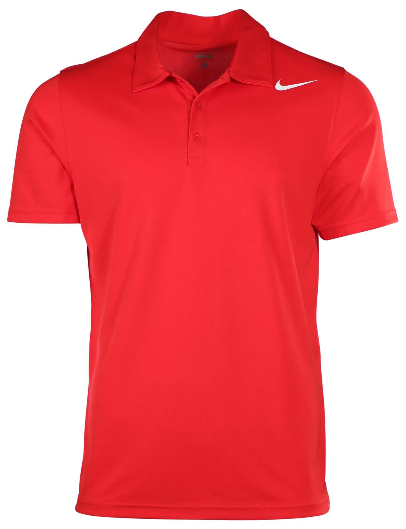 Nike men 39 s dri fit stay cool tennis polo shirt ebay for Dri fit polo shirts for boys