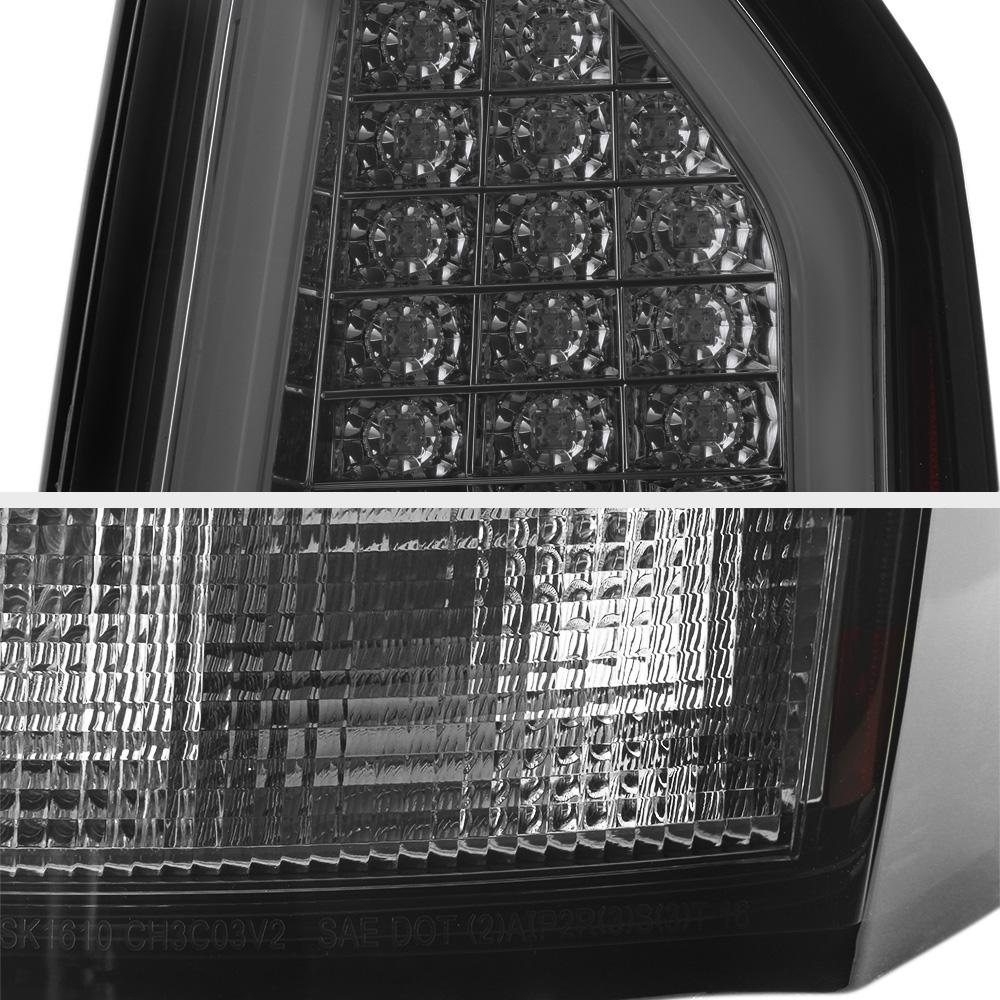 "2005 2006 2007 Chrysler 300c 6 1l Crystal Headlights Smoke: 2005-2007 Chrysler 300C 6.1L ""TRON STYLE"" Phantom Smoke"