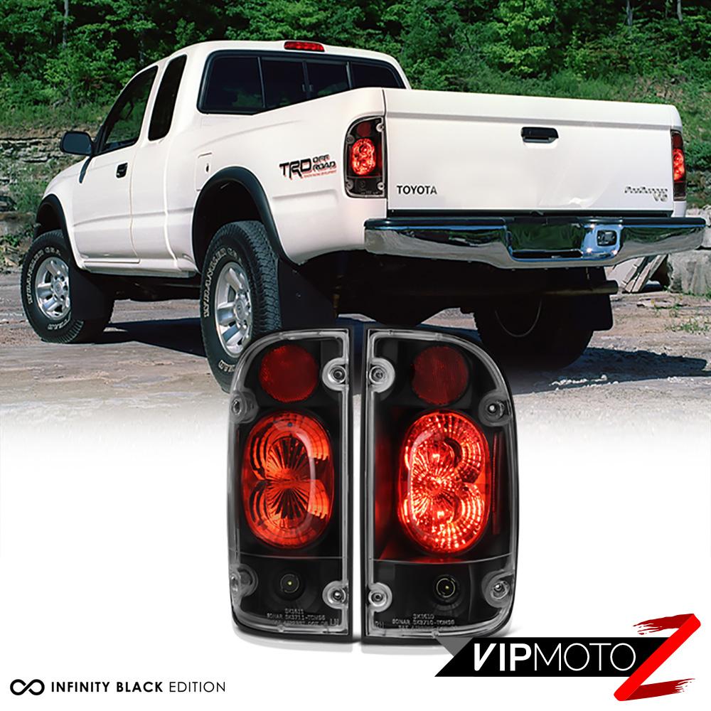 0104 Toyota Tacoma 24WD TRD JDM Pickup Black Tail Light Brake