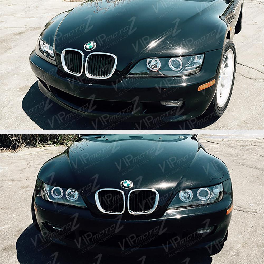 """Bmw Z3 2 5 I: 1996-2002 BMW Z3 """"M-POWER"""" Black Angel Eye Halo Ring"""