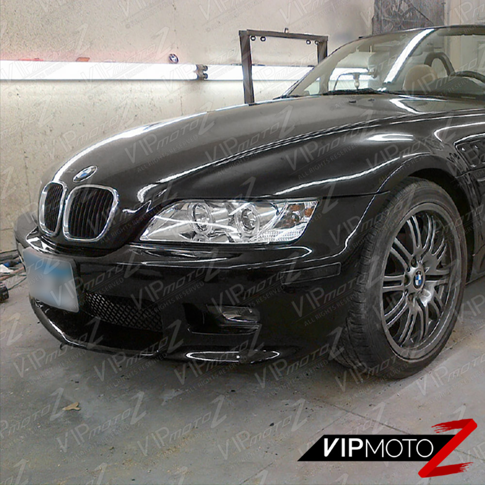 Bmw Z3 Black: 96-02 BMW Z3 Dual Halo Projector Euro Chrome Headlight