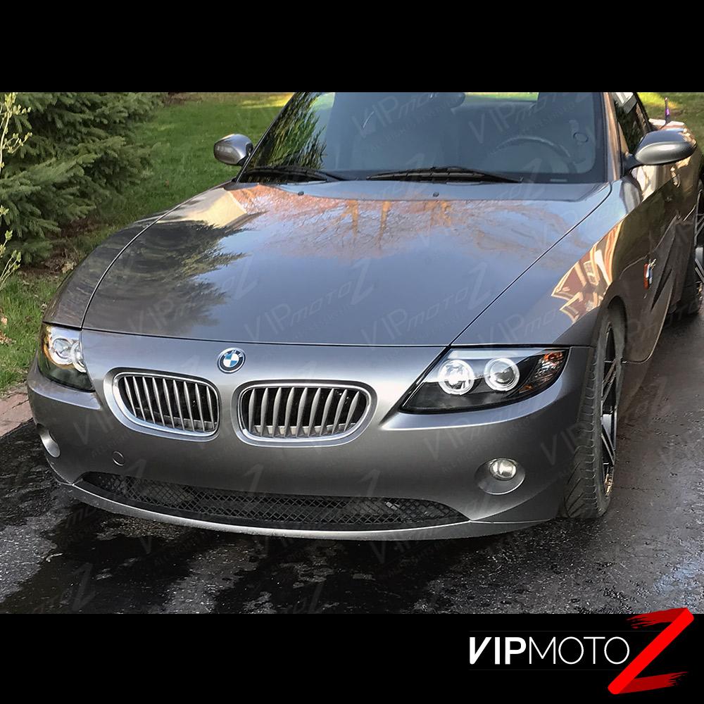 Bmw Z4 Engine Light: 2003-2008 BMW Z4 Coupe Roadster M-Power Black Angel Eye