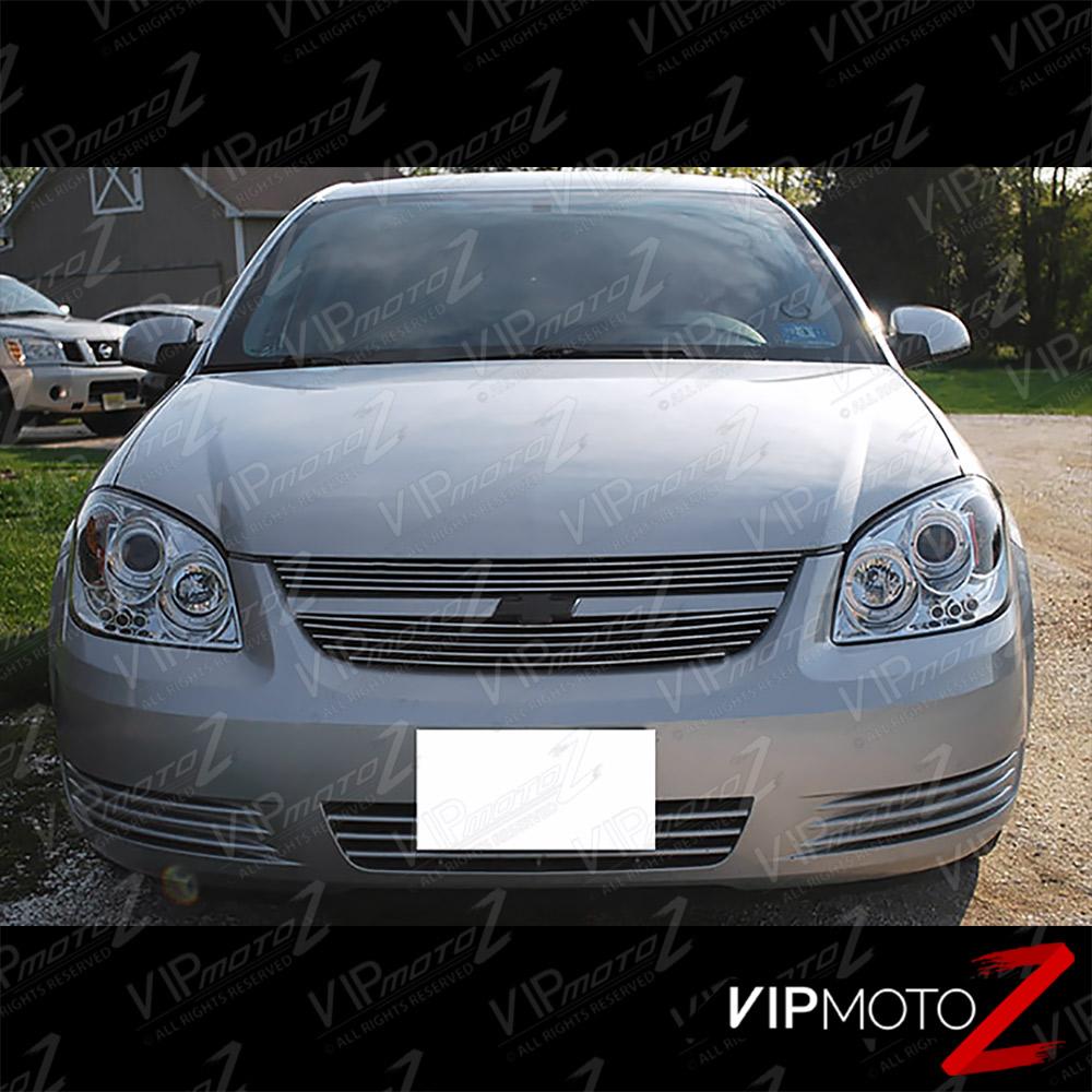 2004 2005 2006 2007 2008 Acura Tl Led Drl Light Strips For: 2005-2010 Chevy Cobalt [EURO CHROME] Pontiac G5 Halo