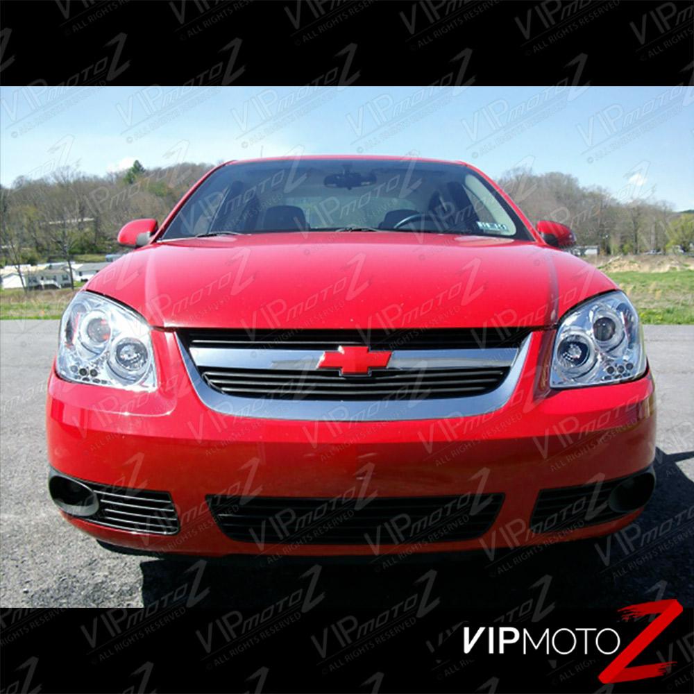 2005 2010 Chevy Cobalt Euro Chrome Pontiac G5 Halo Projector Led Head Lights Cad 159 47