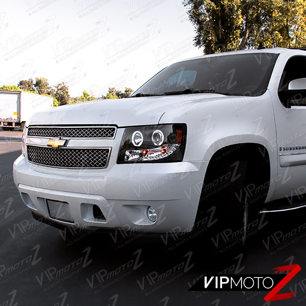 2007 2014 chevy avalanche suburban tahoe halo led. Black Bedroom Furniture Sets. Home Design Ideas