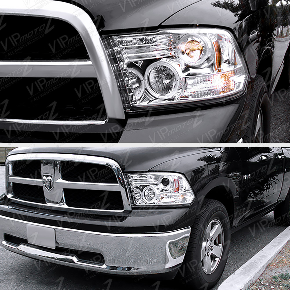 2009 2014 dodge ram 1500 clear led tail light projector. Black Bedroom Furniture Sets. Home Design Ideas
